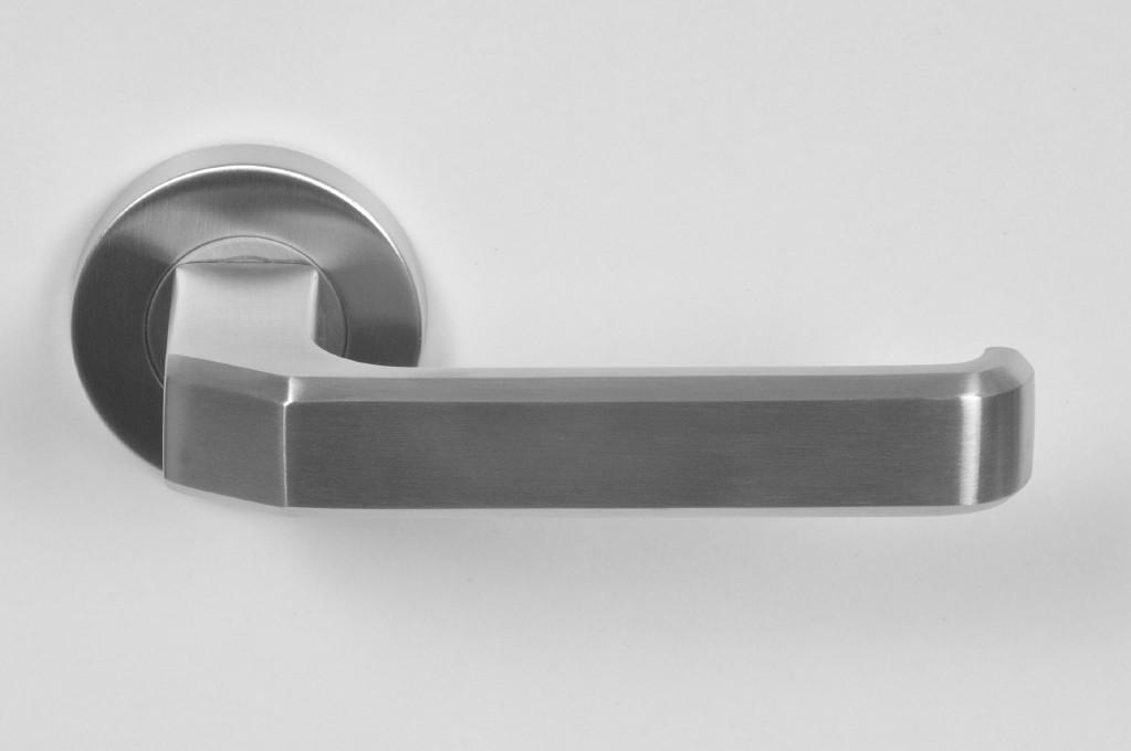 Krukstel massief RVS design type 199 rond p/stel.