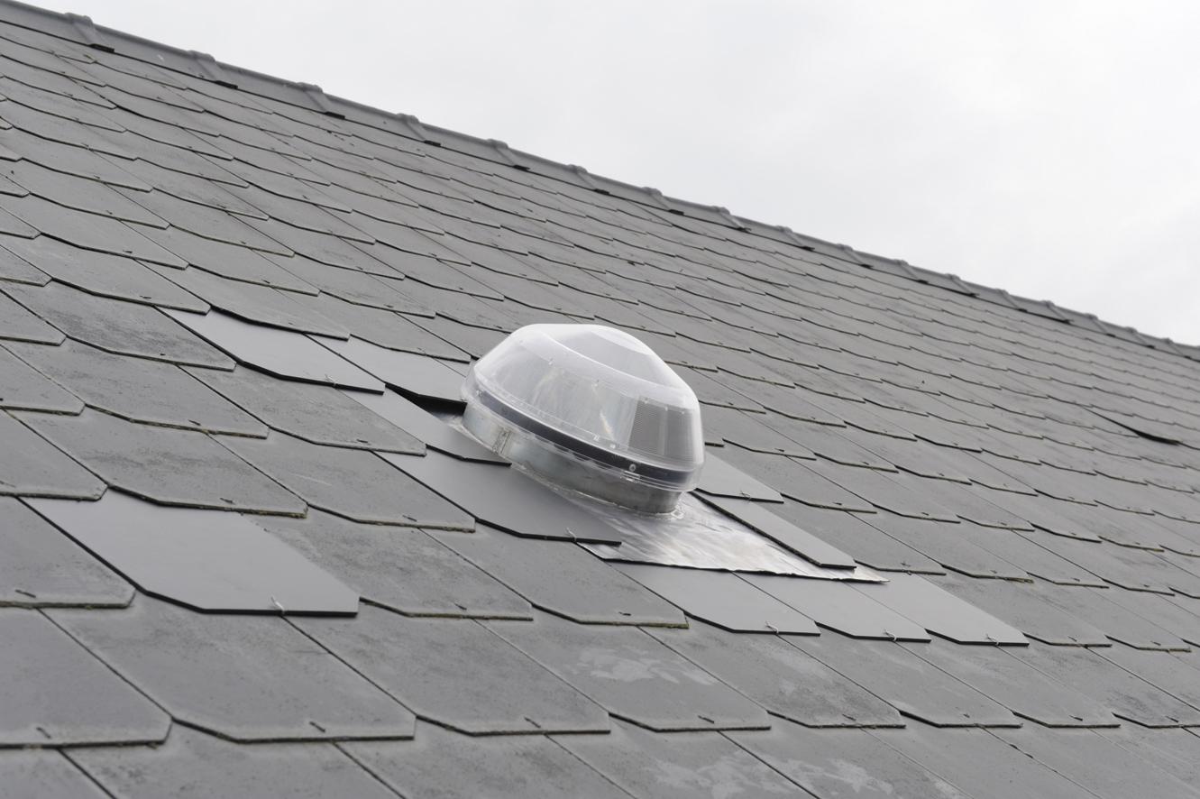 Solatube_160-290DS_Loden dakdoorvoer-7cm hoog